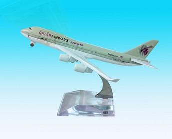 卡塔尔航空飞机模型